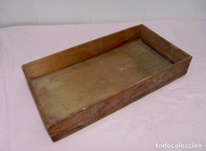 Vintage: 11 antiguas cajas-cajones de madera. - Foto 6 - 146428850