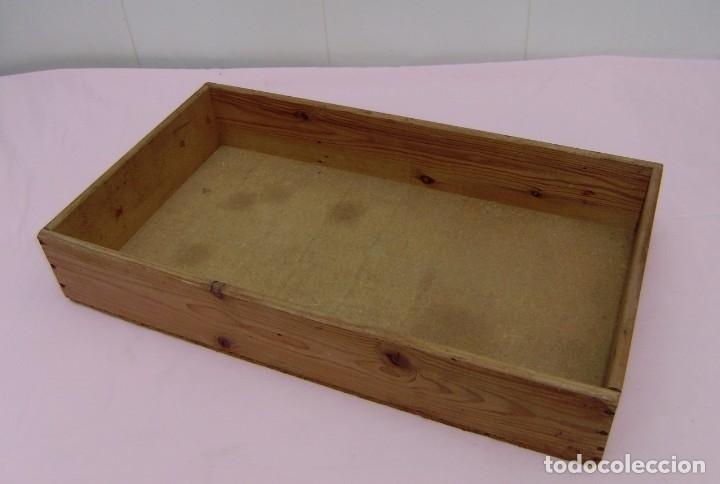 Vintage: 11 antiguas cajas-cajones de madera. - Foto 7 - 146428850
