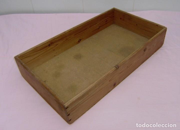 Vintage: 11 antiguas cajas-cajones de madera. - Foto 10 - 146428850