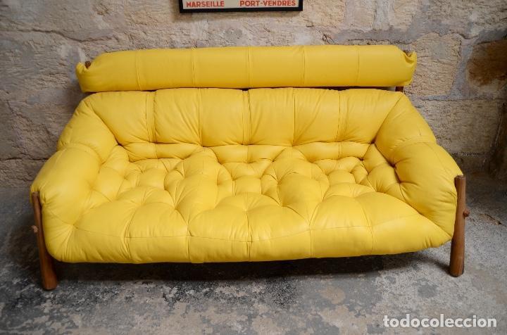 Vintage: Sofa Percival Lafer modelo MP-81 años 70 - Foto 3 - 146575774