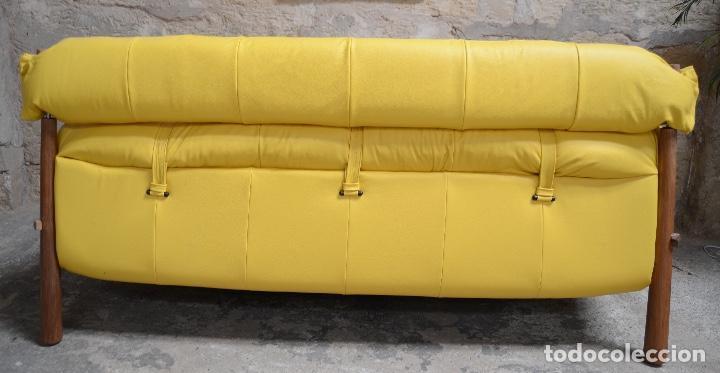 Vintage: Sofa Percival Lafer modelo MP-81 años 70 - Foto 13 - 146575774