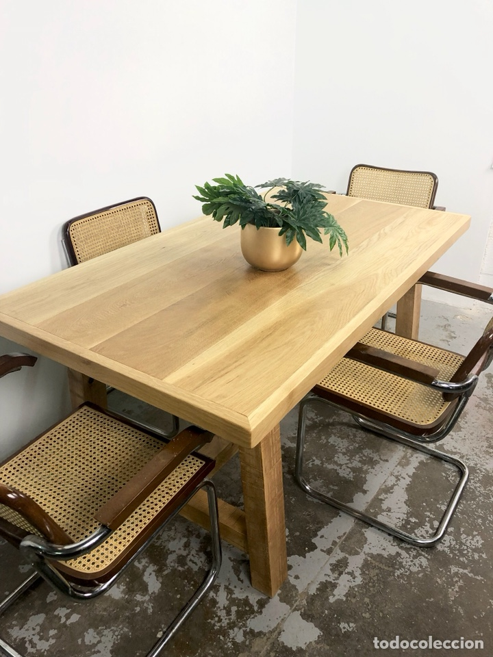 mesa comedor madera maciza - Comprar Muebles vintage en ...