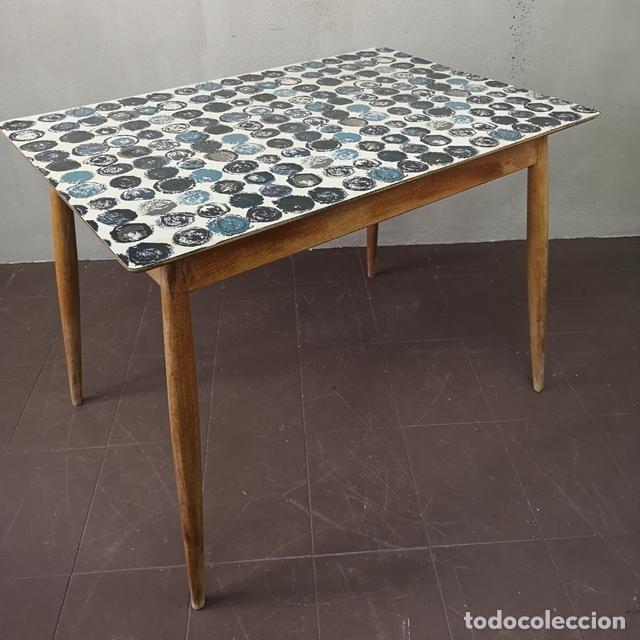 preciosa mesa de cocina vintage en madera de ha - Kaufen Vintage ...