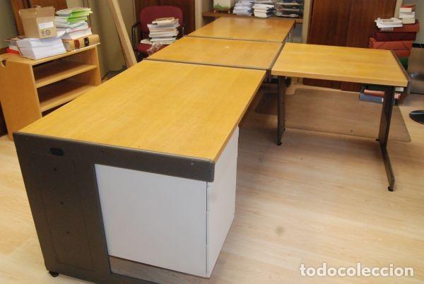 mesa de despacho/oficina dispuesta en forma de - Kaufen Vintage ...