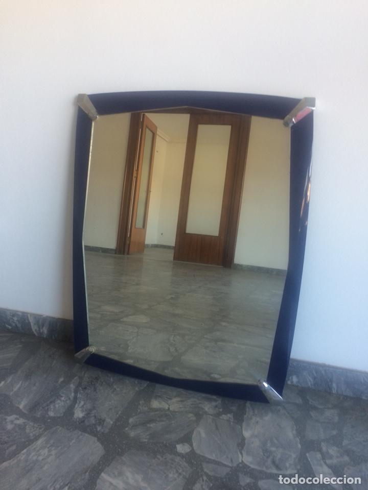 espejo para cuarto de baño azul cobalto vintage - Kaufen Vintage ...