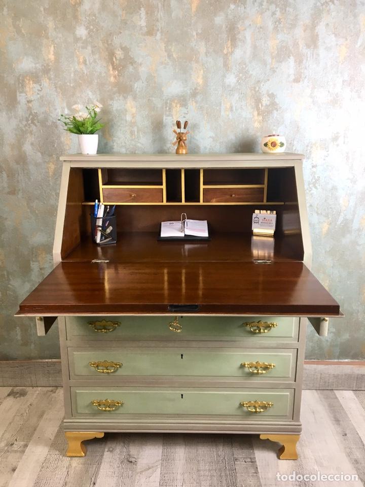 Vintage: Mueble escritorio y silla Vintage - Foto 3 - 153727154