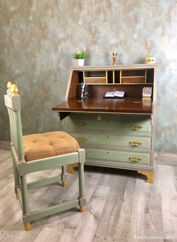 Vintage: Mueble escritorio y silla Vintage - Foto 4 - 153727154