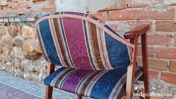 Vintage: Silla antigua vintage estillo danés. Silla descalzadora estilo escandinavo. Silla para escritorio. - Foto 4 - 155103950