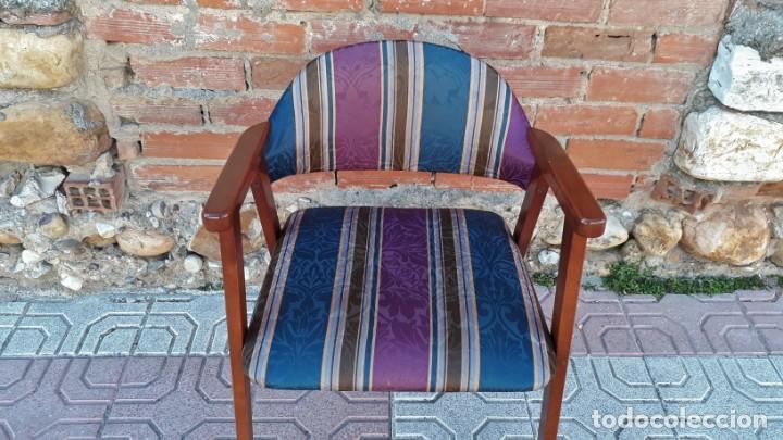 Vintage: Silla antigua vintage estillo danés. Silla descalzadora estilo escandinavo. Silla para escritorio. - Foto 6 - 155103950
