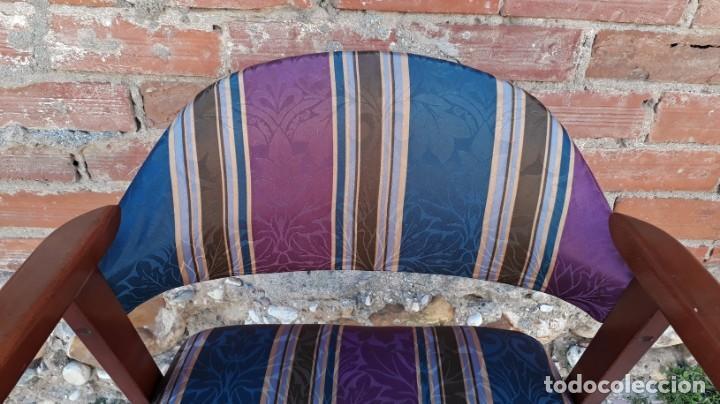 Vintage: Silla antigua vintage estillo danés. Silla descalzadora estilo escandinavo. Silla para escritorio. - Foto 7 - 155103950