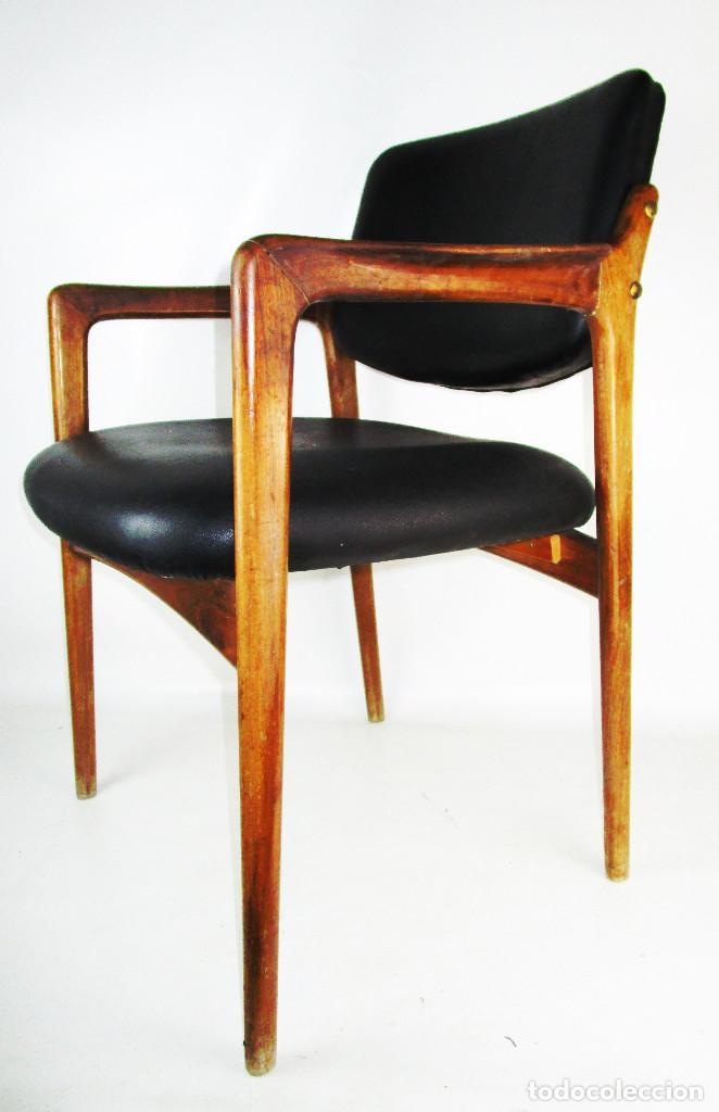 PRECIOSA SILLA NORDICA VINTAGE IDEAL ESCRITORIO EN MADERA TIPO TEKA (Vintage - Furniture)