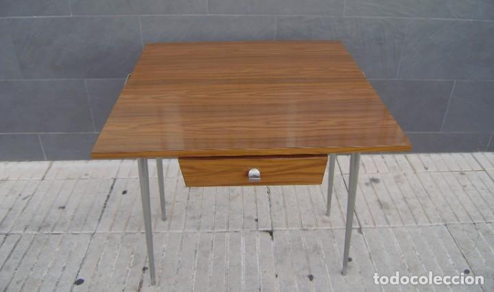 Vintage: Mesa de cocina extensible.Años 60. - Foto 4 - 155323566