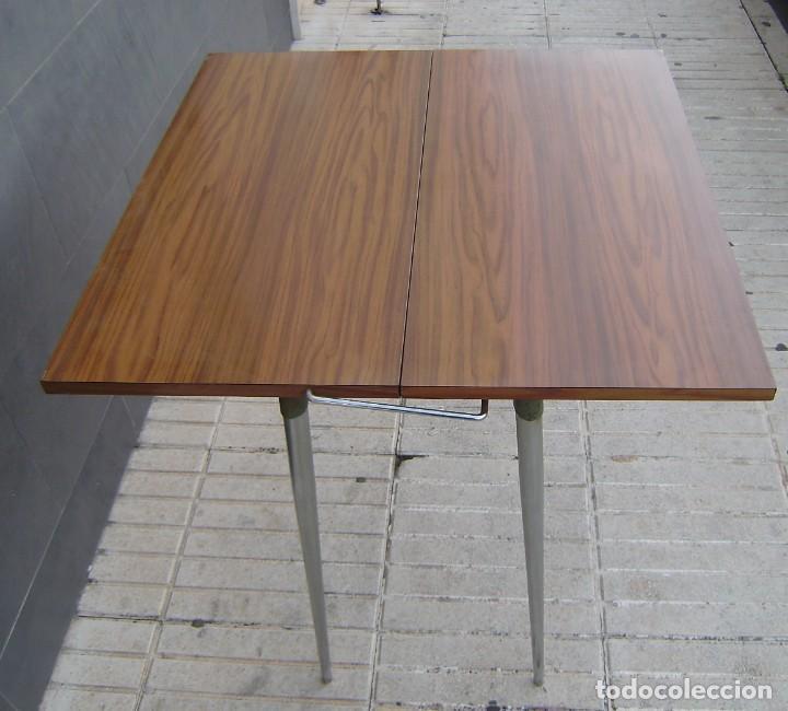 Vintage: Mesa de cocina extensible.Años 60. - Foto 6 - 155323566