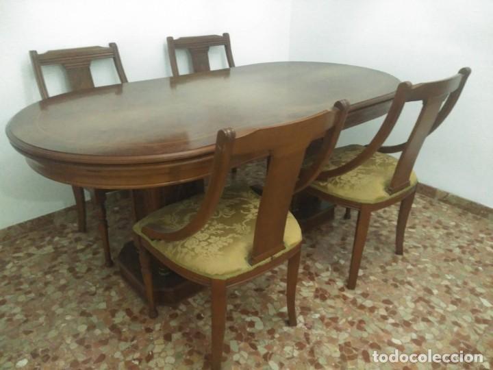 magnifica mesa y sillas salon comedor - Comprar Muebles vintage en ...