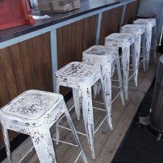 Vintage: TABURETES DE BAR, LOTE DE SEIS. Lote 158500200
