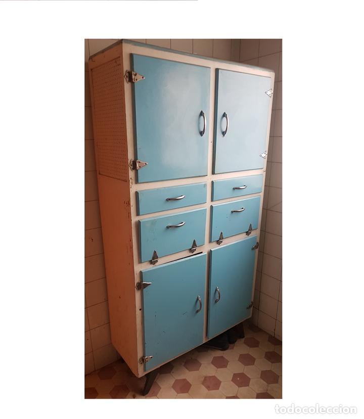alacena de cocina vintage de los años 60 - Comprar Muebles vintage ...