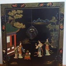 Vintage: PRECIOSO Y ANTIGÜO ARMARIO BAJO O MUEBLE AUXILIAR JAPONES. Lote 162485398