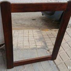Vintage: ESPEJO MADERA. Lote 162617366