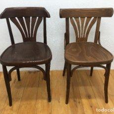 Vintage: 2 SILLAS DE BAR, ESTILO THONET, NUEVAS SIN USO. Lote 163758186