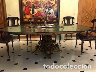 mesa comedor con marmol - Comprar Muebles vintage en todocoleccion ...