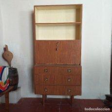 Vintage: PRECIOSO ESCRITORIO LIBRERIA DE FORMICA. Lote 165264602