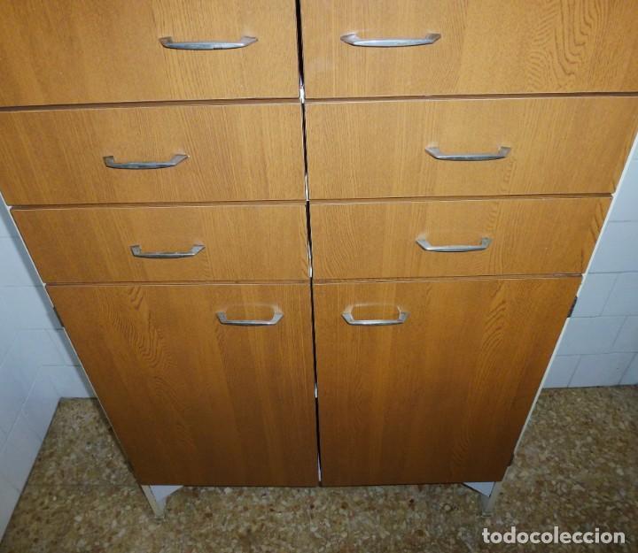 Vintage: Mueble de cocina alacena vintage. - Foto 5 - 165795422