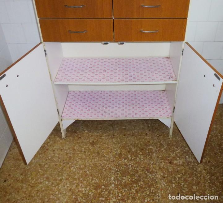 Vintage: Mueble de cocina alacena vintage. - Foto 8 - 165795422