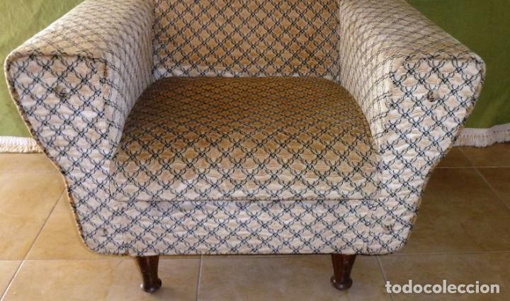Vintage: Pareja de sillones en excelente estado. - Foto 3 - 166054914