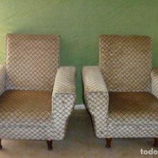Vintage: PAREJA DE SILLONES EN EXCELENTE ESTADO.. Lote 166054914