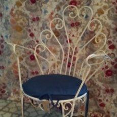 Vintage: PAREJA SILLONES TERRAZA HIERRO. Lote 168058888