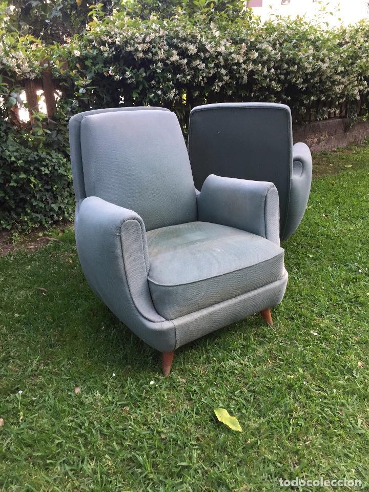 PAREJA DE BUTACAS AÑOS 60 (Vintage - Muebles)