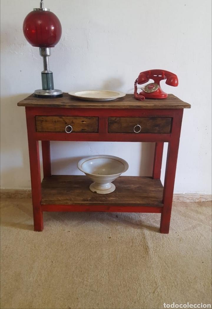 MUEBLE AUXILIAR ENTRADITA (Vintage - Muebles)