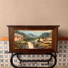 Vintage: MUEBLE BAR DE ANTIGUA TELEVISION, MUY BUEN ESTADO.. Lote 174015240