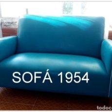 Vintage: SOFÁ AÑO 1954 KITSCH VINTAGE REAL.. Lote 174057952