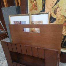 Vintage: ARAV ARCHANGELUS, REVISTERO DE DISEÑO EN MADERA. Lote 174315762