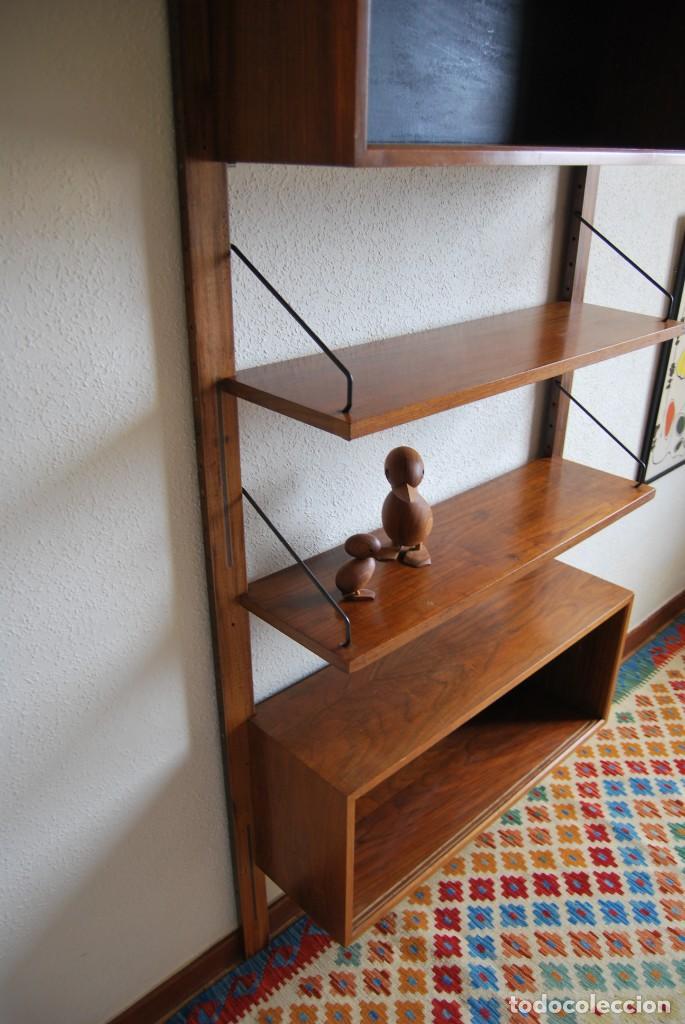 Estantería Madera Diseño Danés Poul Cadovius Vendu En