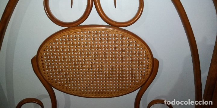 Vintage: CABECERO DE CAMA ESTILO THONET EN HAYA - Foto 2 - 176051490