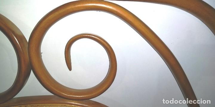 Vintage: CABECERO DE CAMA ESTILO THONET EN HAYA - Foto 3 - 176051490