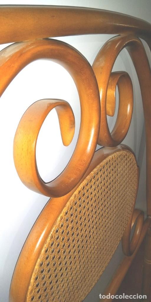Vintage: CABECERO DE CAMA ESTILO THONET EN HAYA - Foto 4 - 176051490