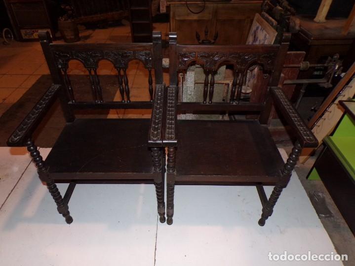 SILLONES FRAILEROS (Vintage - Muebles)