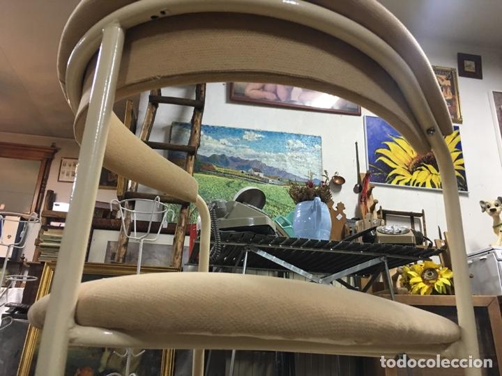Vintage: Silla butaca vintage de curioso diseño - Estructura modernista metálica - Foto 5 - 176541612