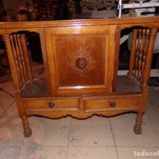 Vintage: MUEBLE RECIBIDOR VINTAGE. Lote 176623788