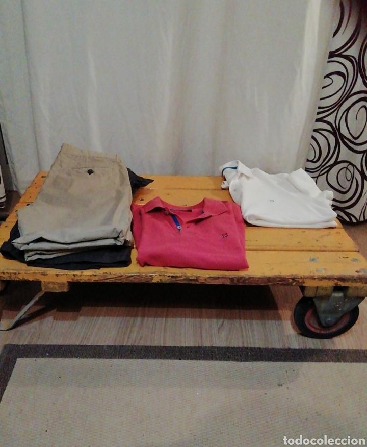 Vintage: Mesa de madera ruedas - Foto 8 - 176791399