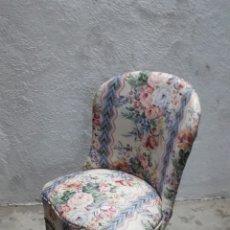 Vintage: SILLÓN DESCALZADORA. Lote 176904863