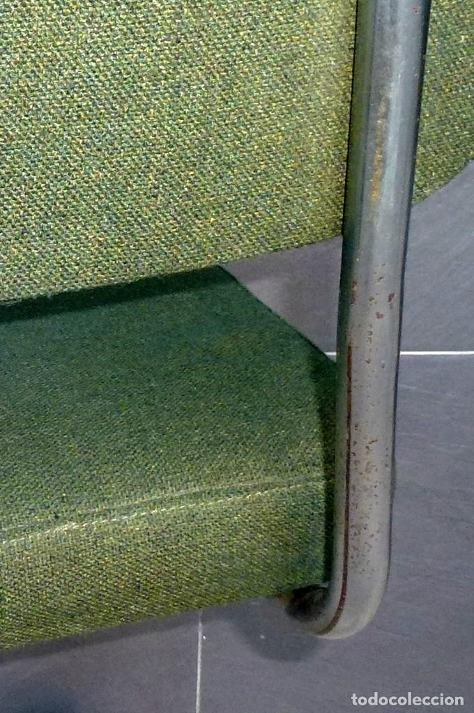 Vintage: 5 sillas de oficina,una de ellas regulable en altura - Foto 4 - 178068637