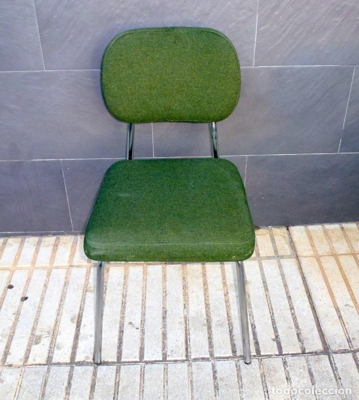 Vintage: 5 sillas de oficina,una de ellas regulable en altura - Foto 6 - 178068637