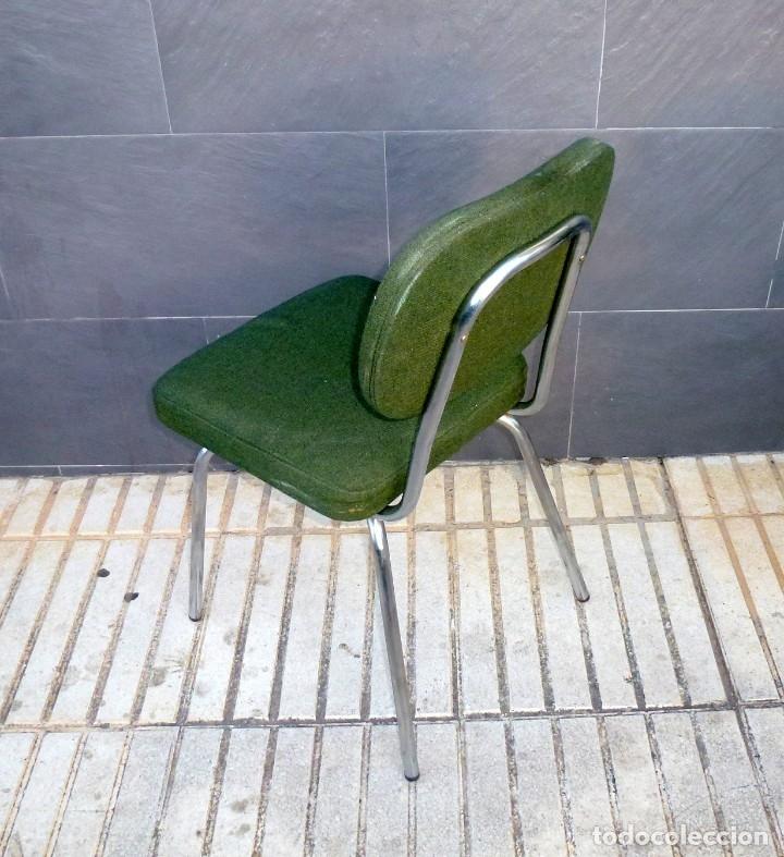 Vintage: 5 sillas de oficina,una de ellas regulable en altura - Foto 7 - 178068637