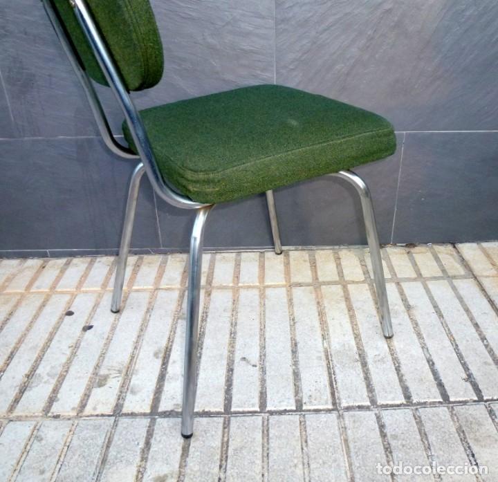 Vintage: 5 sillas de oficina,una de ellas regulable en altura - Foto 8 - 178068637