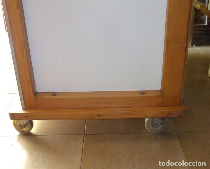Vintage: Mueble industrial de panaderia con persiana. - Foto 11 - 178115059