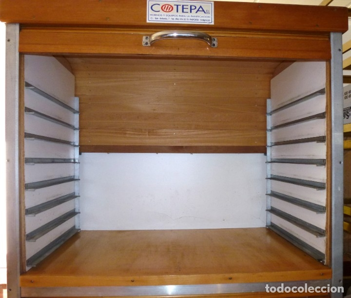 Vintage: Mueble industrial de panaderia con persiana. - Foto 7 - 178394986